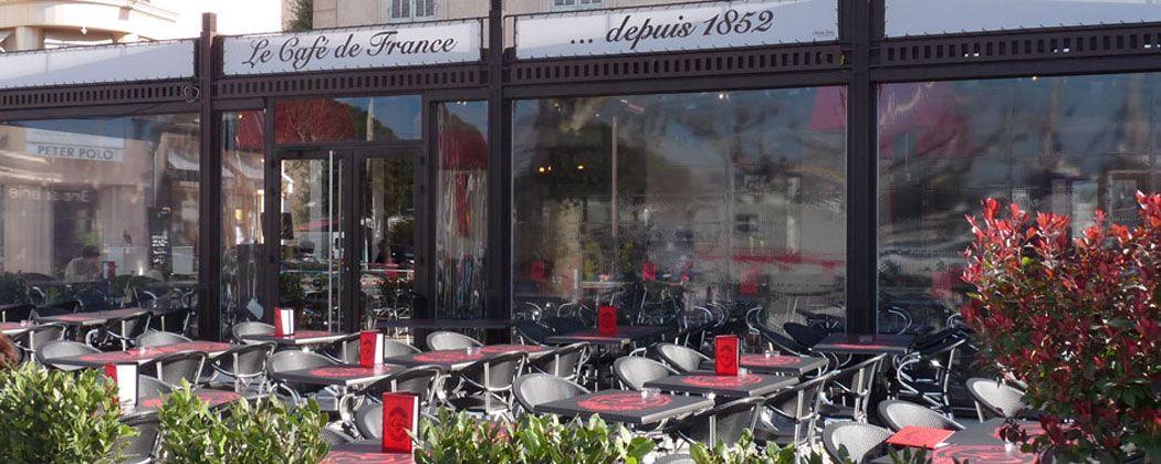 Sainte Maxime Restaurant Le Cafe De France